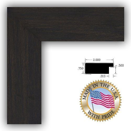 ArtToFrames 18x24 18 x 24 Picture Frame Black Coffee 2 wide ...