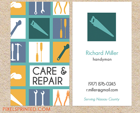 Handyman Business Cards Contractor Business Cards Electrician Business Cards Plumber Business Cards Tarjetas Tarjetas De Presentacion Presentaciones