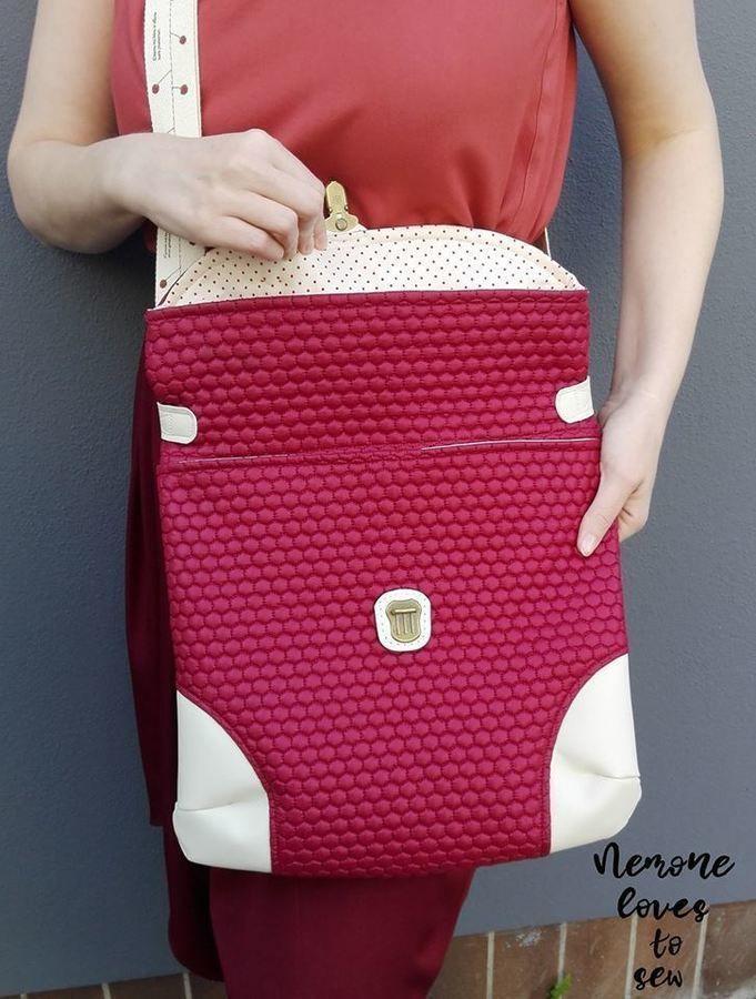Tasche - Büddel Bag Marei, Schnittmuster und Anleitung