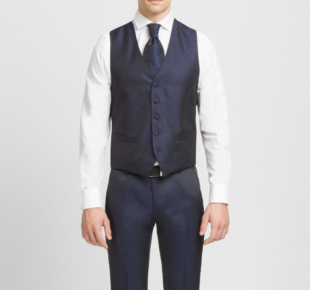 Blue Digel Men S Waistcoat With Tie And Pochette Wedding Vest Men S Waistcoat Waistcoat