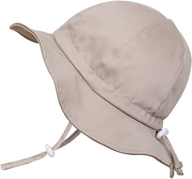 b1f511e2f96 Amazon.com  Twinklebelle Cute Newborn Baby Boy Breathable Summer Sun Hat 50  UPF