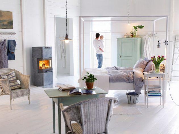 Kamin richtig heizen | Heize, Warmes Schlafzimmer und einfacher Kamin