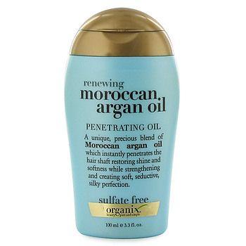 Organix Moroccan Argan Oil On Natural Hair