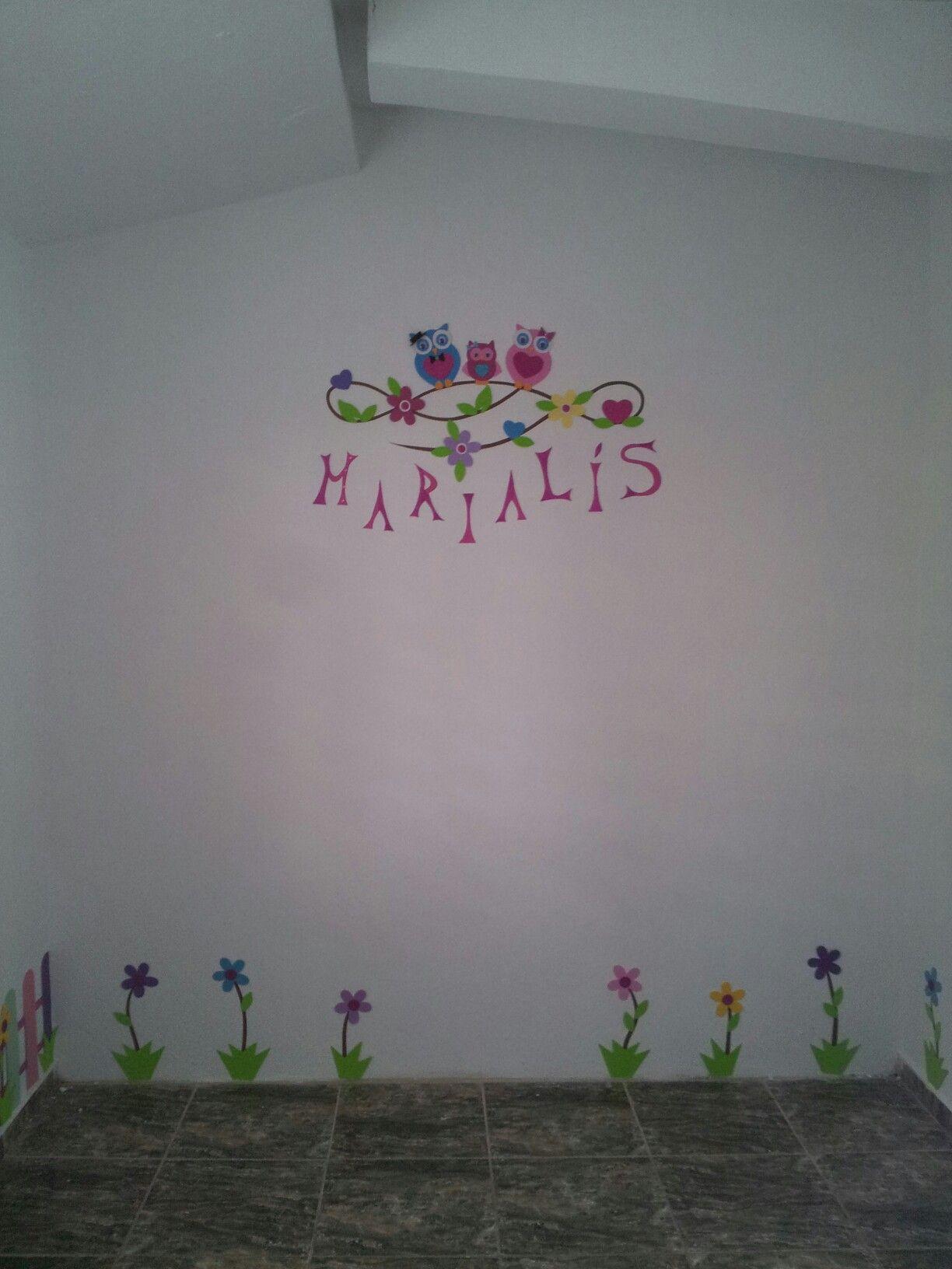 Decoración Habitación Infantil (niña) Buhos