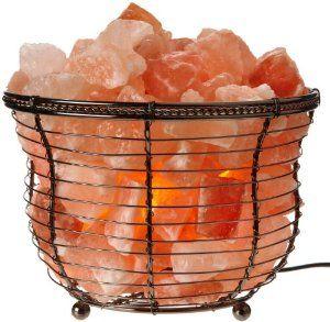 Amazon Com Wbm Himalayan Light 1301b Natural Air Purifying Himalayan Tall Basket S Natural Himalayan Salt Lamp Salt Crystal Lamps Himalayan Salt Lamp Basket