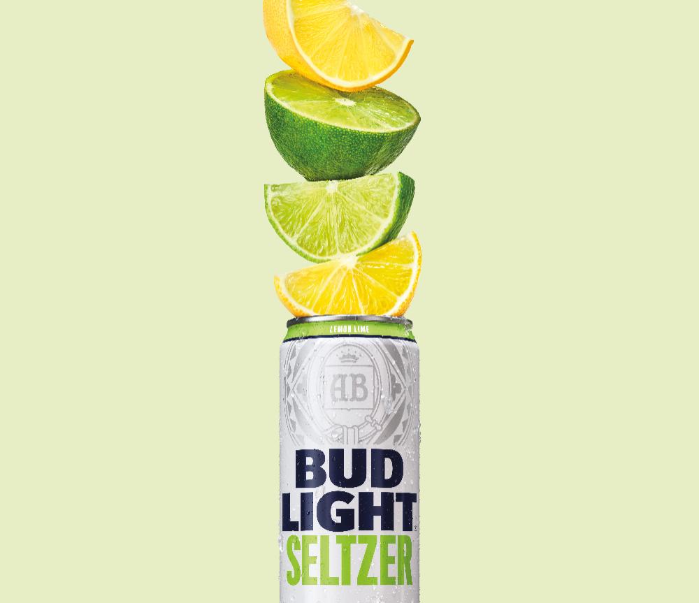 Bud Light Makes 100 Million Bet On Hard Seltzer Dieline Hard Seltzer Bud Light Bud Light Lime