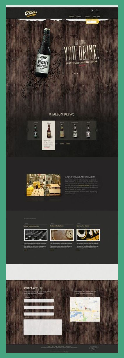 Web Design Elements Web Design Inspiration Web Design Portfolio Web Design Elements In 2020 Web Design Inspiration Web Layout Design Beer Design
