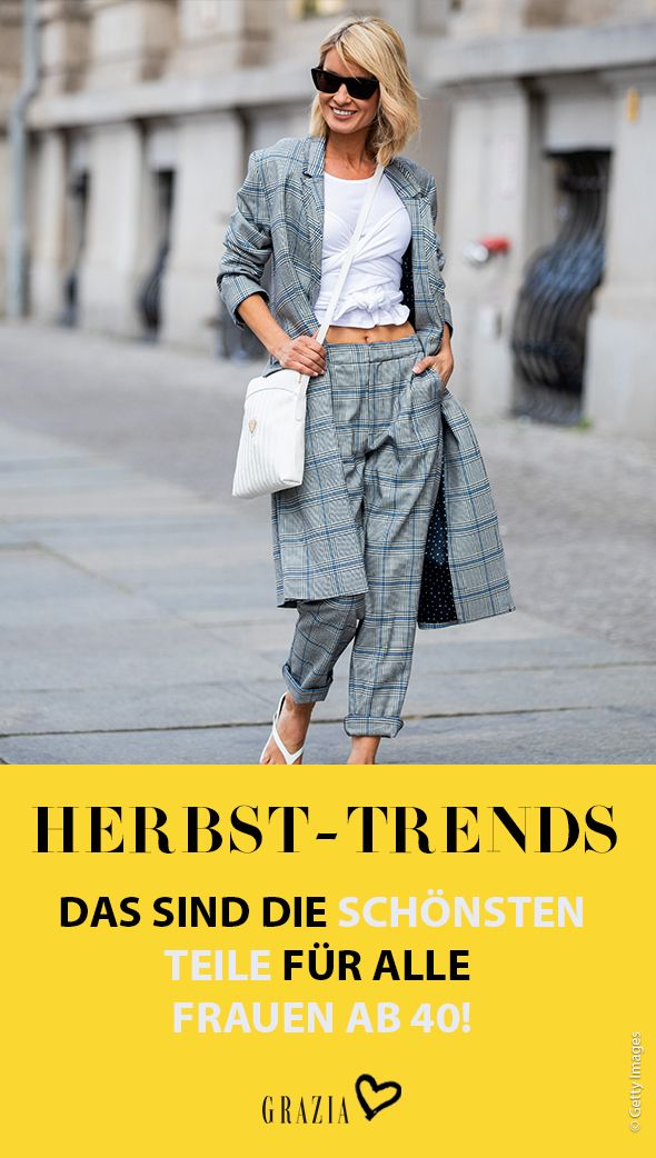 Frauen ab 40: Das sind die schönsten Trends für den Herbst..