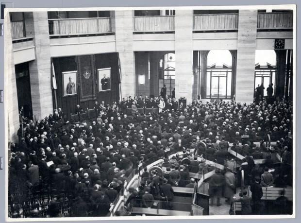 L'inaugurazione del palazzo. (8 dicembre 1931) #piazzaMeda