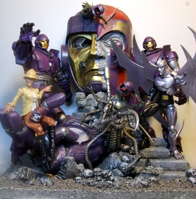 Pin by Wat Anass on Diorama   Custom action figures, Action figures