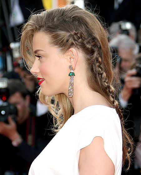 Celebs Braided Hairstyles On The Red Carpet Dutch Braid Hairstyles Hair Styles Braided Hairstyles