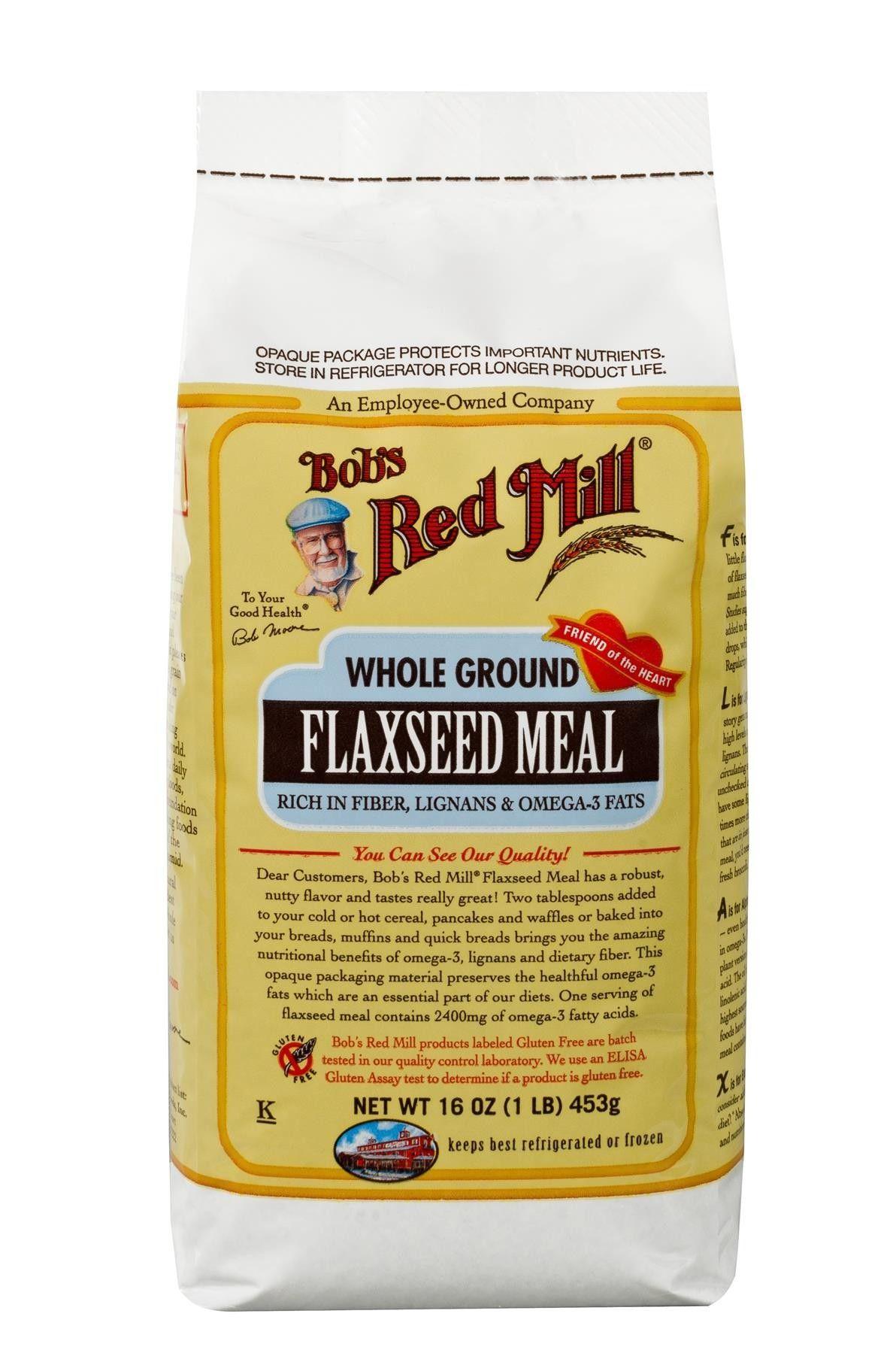 Organic Golden Flaxseed Meal #flaxseedmealrecipes
