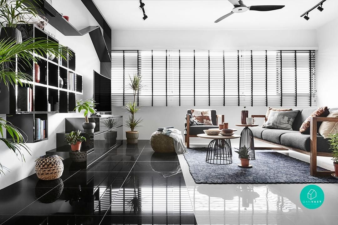 Home Of The Month Monochromatic Modernity With Images
