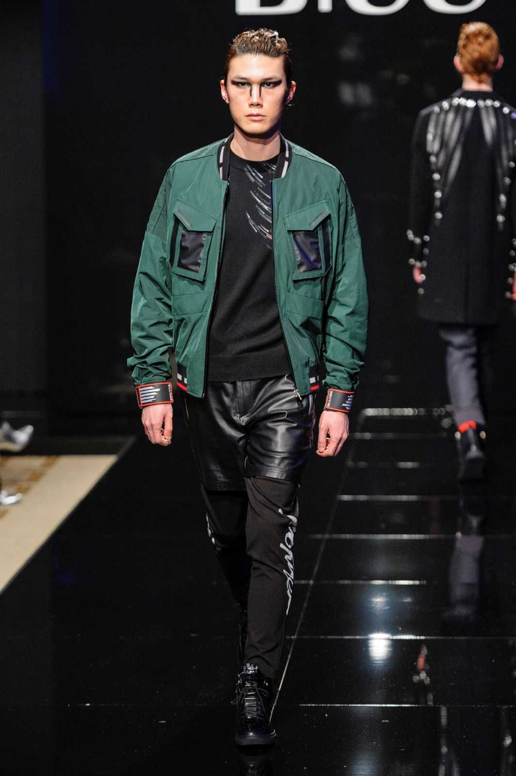 9c3260794ee60 Male Fashion Trends: BIUU Fall-Winter 2018-19 | Milan Fashion Week. Find  this Pin and more on leather jackets ...