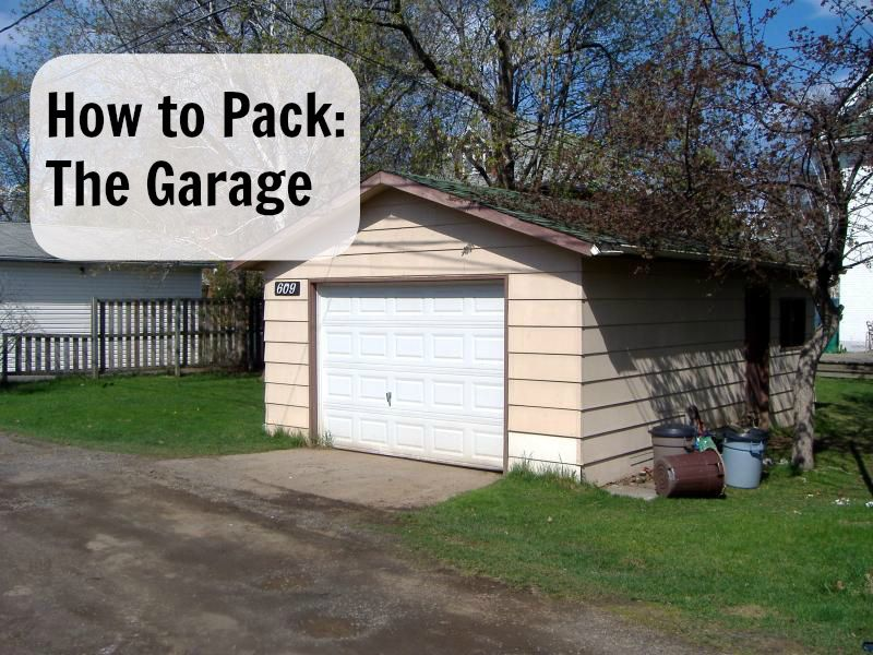 How To Pack The Garage With Images Garage Attic Rooms Packing To Move