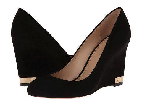 3c45874e1dde Tory Burch Astoria 85mm Wedge Black - Zappos Couture