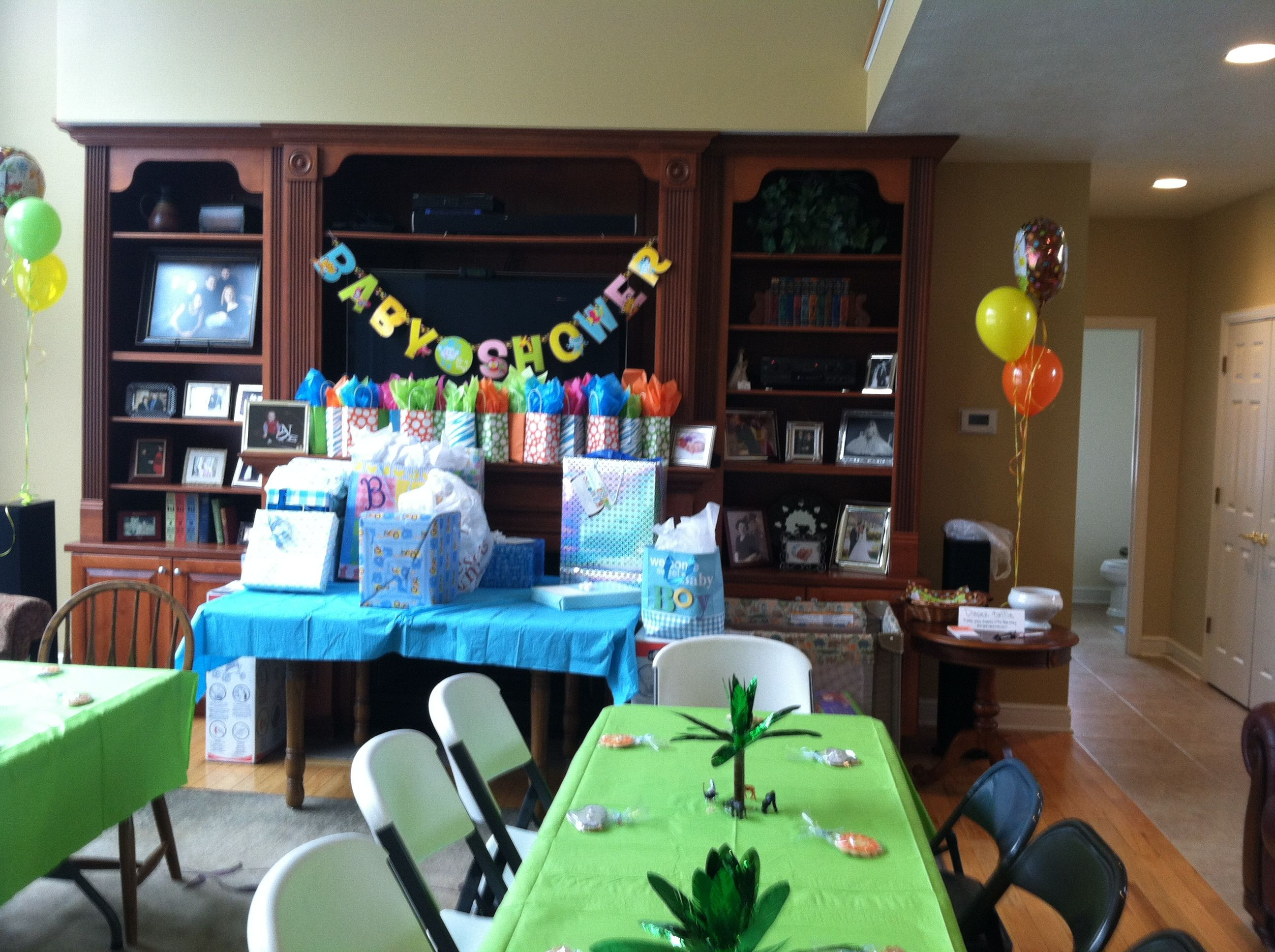 jungle safari baby shower theme got almost everything from party