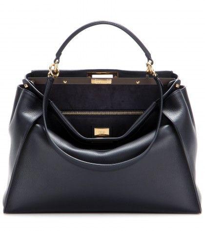 47972cb5821e Fendi - Sac en cuir Peekaboo Large   Bags   Pinterest   Patience ...
