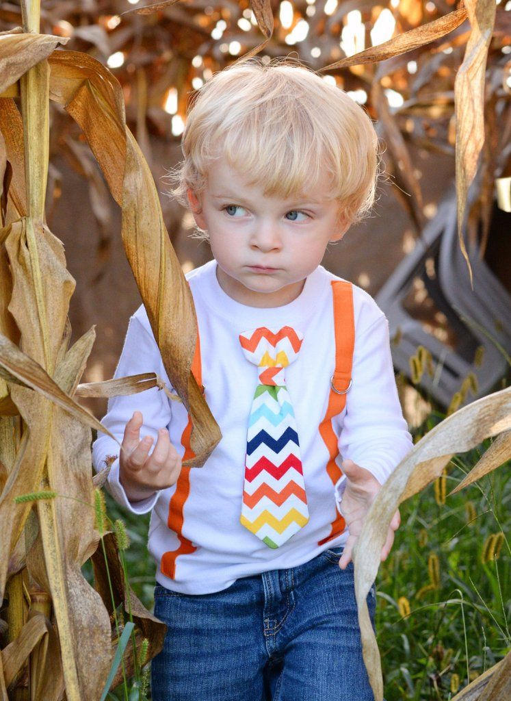 Orange Rainbow Outfit | Cute baby boy outfits
