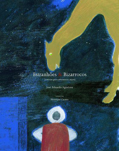 capa de livro ilustrado por henrique cayatte