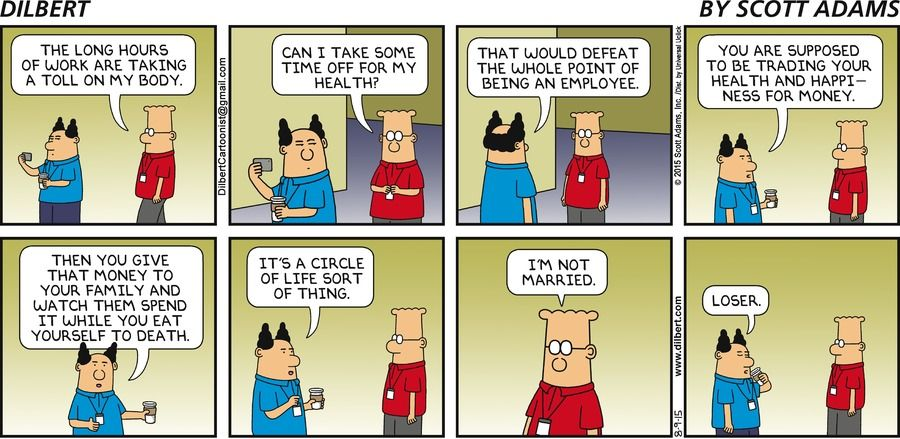 the circle of life - Dilbert by Scott Adams | LOL | Funny