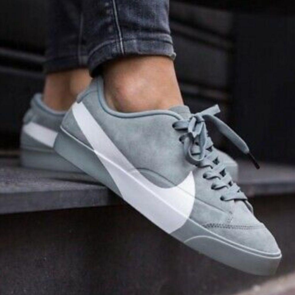 NEW Nike Blazer City Low LX Mica Green/White | Sneakers men ...