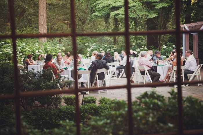 Keegan And Tyler S Reception For 35 In Beautiful Leach Botanical Gardens Photography By Anna Caitlin See Intimateweddings Blog More Details