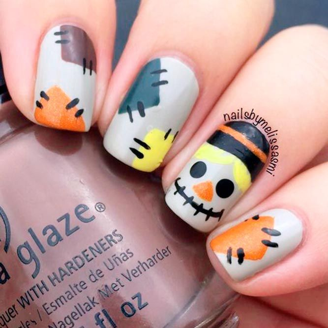 33 Spooky Halloween Nail Designs for More Fun - 33 Spooky Halloween Nail Designs For More Fun Halloween Nail