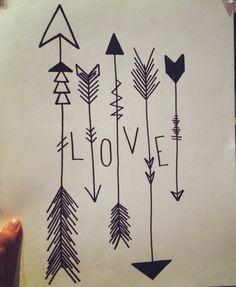 Hipster Art Love