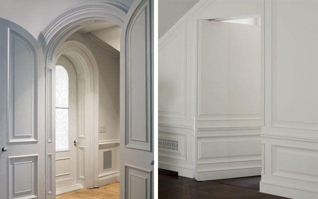 Decofilia blog c mo decorar casas con molduras de pared for Decorar puertas con molduras
