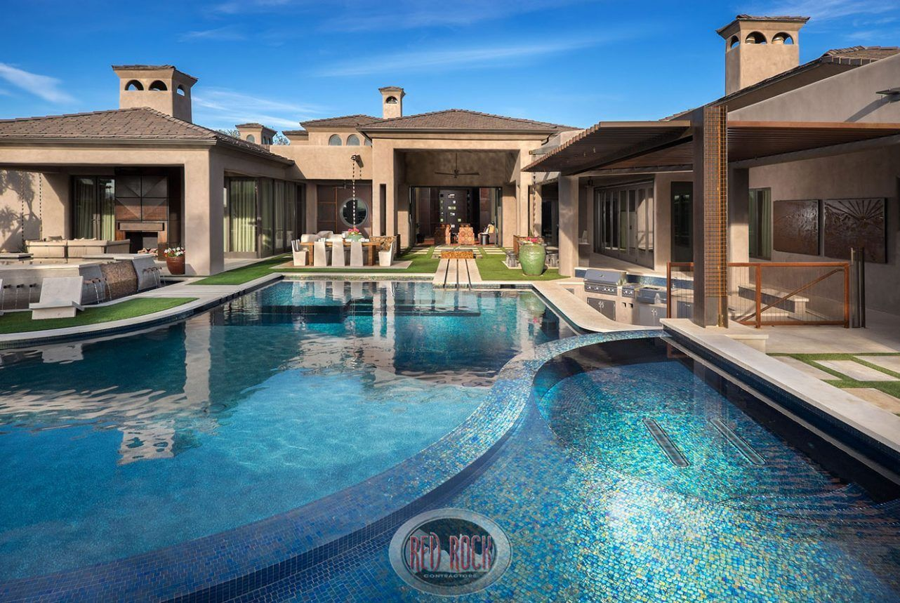 Red Rock Pools Spas Contractors Design Custom Pool
