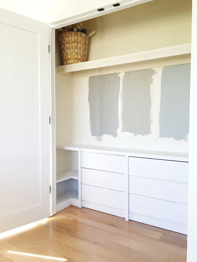 Ikea closet dresser ikea hack built in dressers for the
