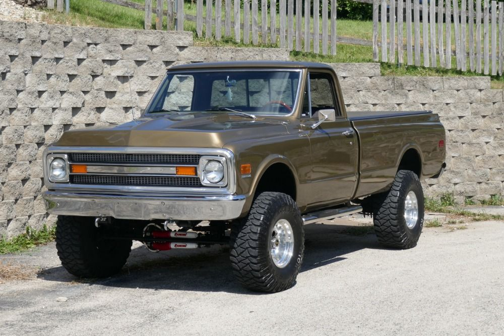 Used 1970 Chevrolet C10 4x4 Frame Off Truck Restored Mint See