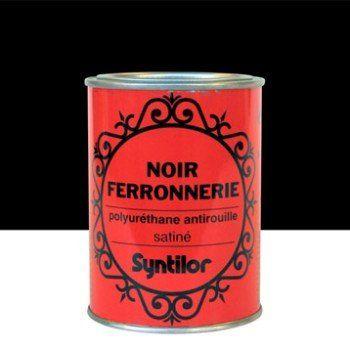 Peinture Ferronnerie Extérieur Syntilor Noir 075 L Cour