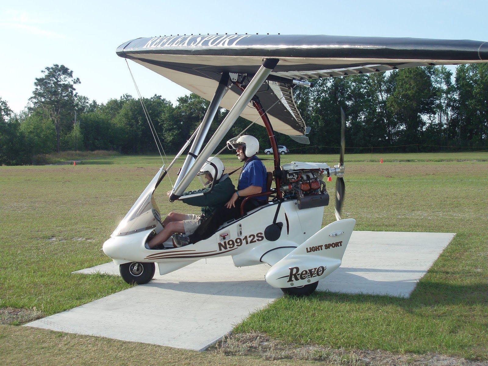 Evolution Revo #aviation #aircraft #flexwing #trike