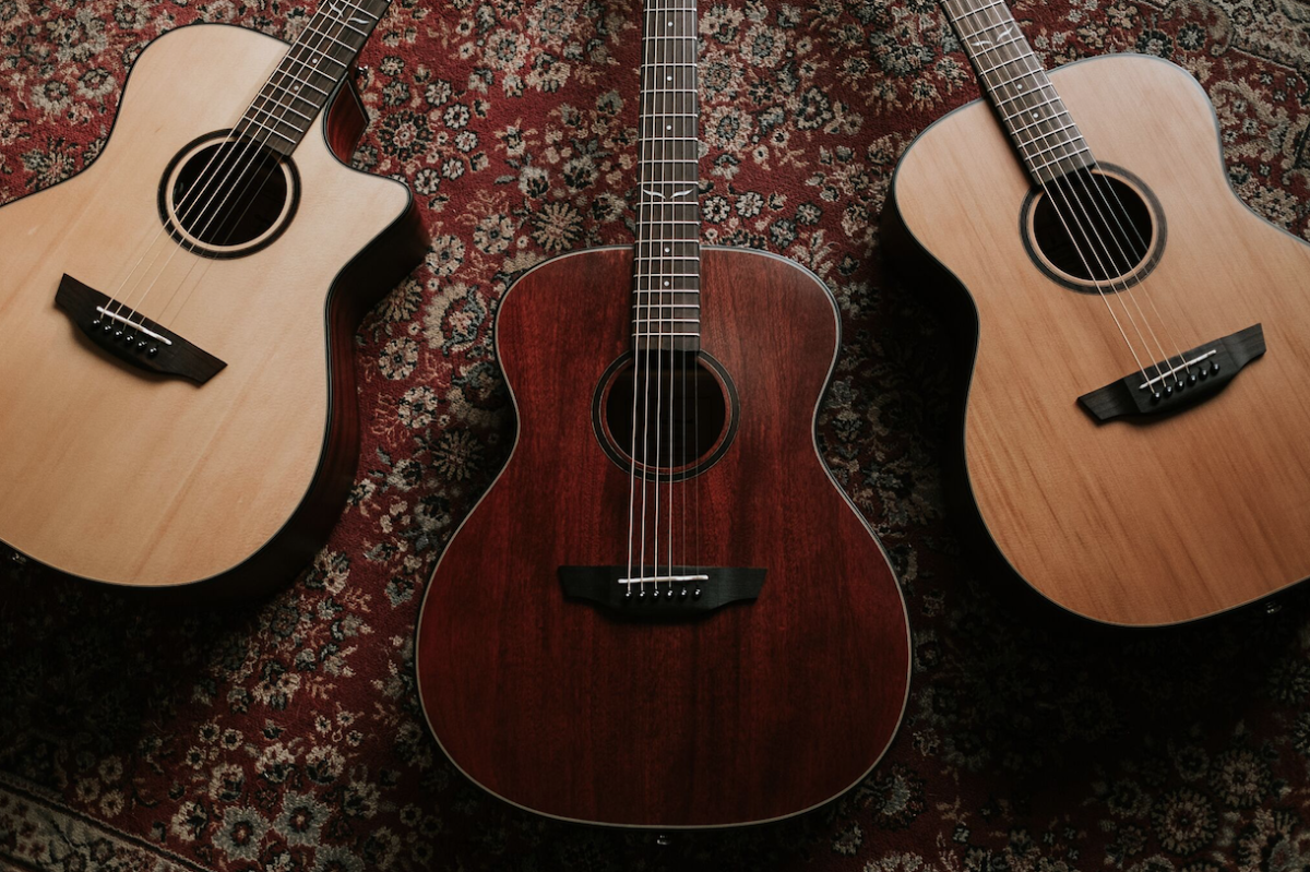 Orangewood Introduces Overland Collection Of Acoustic Guitars Launched By The New Ecommerce Brand Orangewood S Overland Co Guitar Acoustic Guitar Guitar Logo