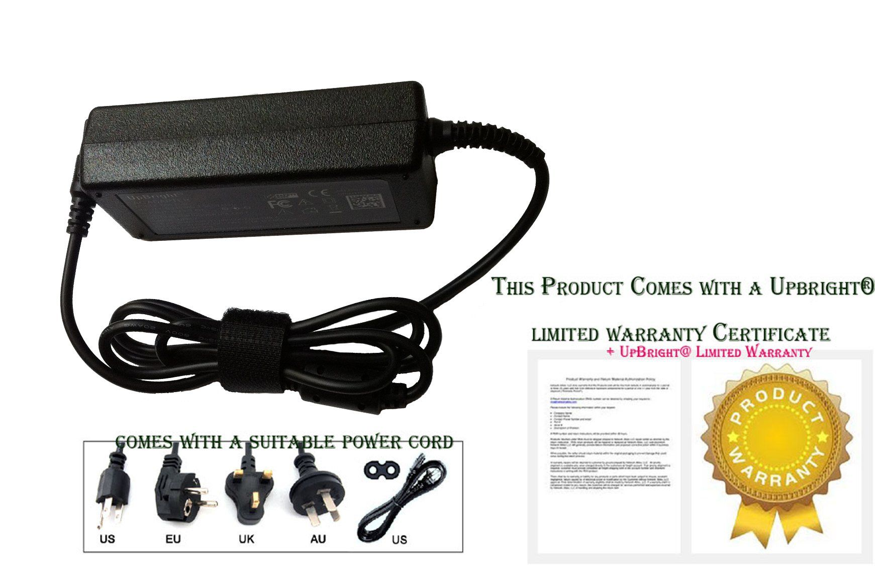 UpBright NEW Global AC / DC Adapter For Proscan PLED2402A 24 LCD LED
