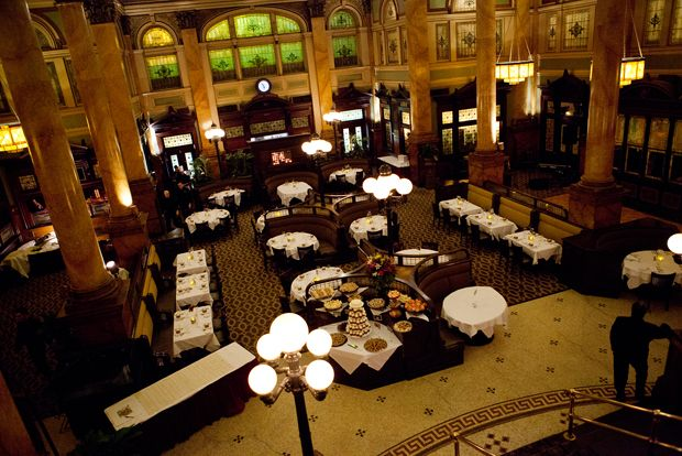 The Grand Concourse Restaurant Located In Beautifully Restored Pittsburgh And Lake Erie Railroad Station PA