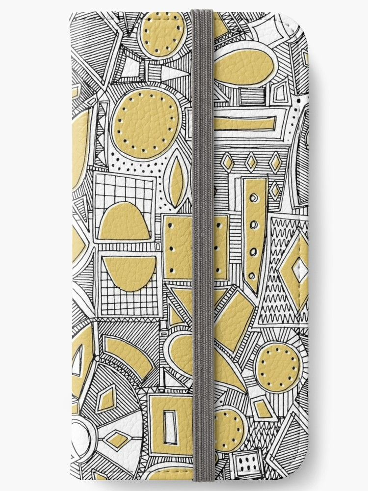 best authentic 82638 6ed84 RAZZ BW STRAW' iPhone Wallet by Sharon Turner | Redbubble | Wallet ...