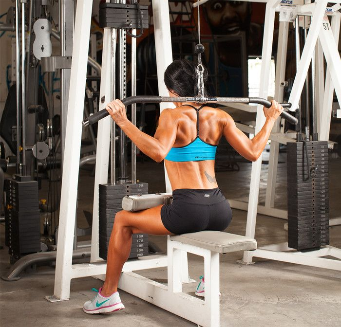 what muscle pulls the shoulder backward and downward