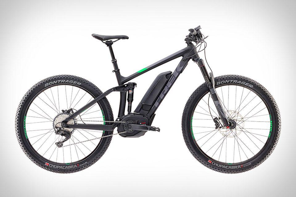 Trek Powerfuly 8 Fs Plus Electric Mountain Bike Trek Mountain Bike Suspension Bike Trek Bikes