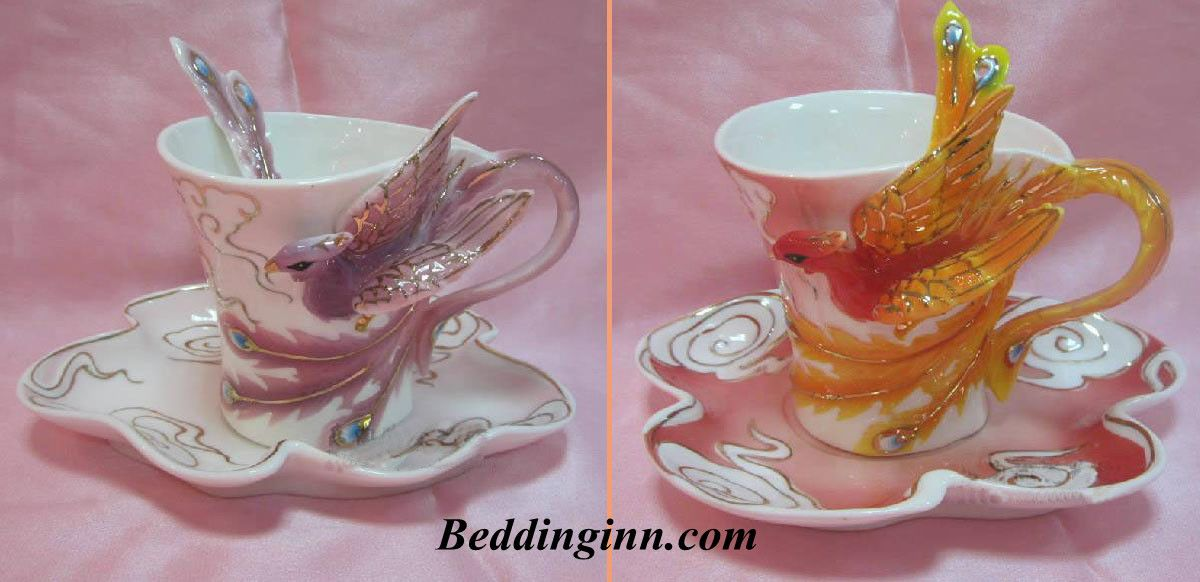 Porcelain Gorgeous Phoenix Coffee Cup Link Http Goo Gl Mfdwtq Live A Better Life Start With Beddinginn