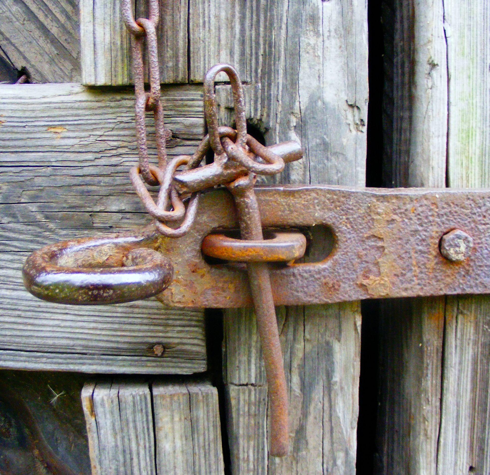 Rust Rusty Rustic Rusted Lock Door Barn Key Cerraduras