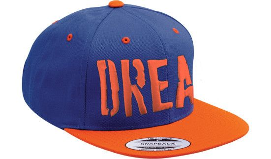 "The ""New York"" themed ""DREAM"" snapback, a 2-tone expression of the City of DREAMS"