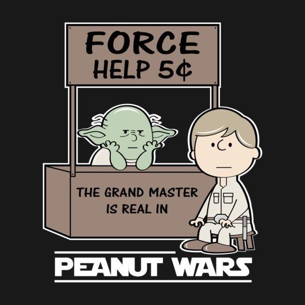 Awesome 'Peanut+Wars+2' design on TeePublic!