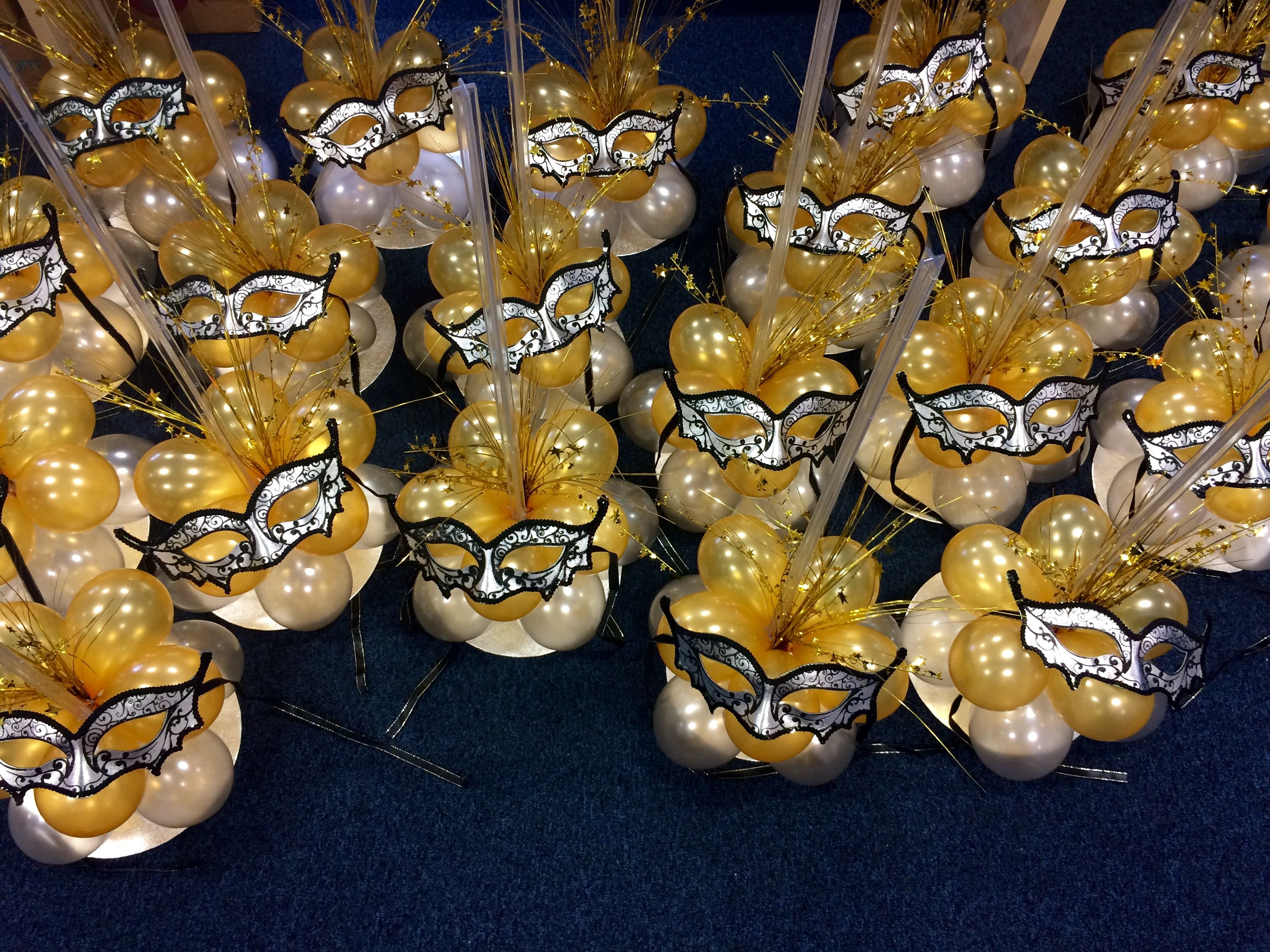 Masquerade Mask Table Decorations Amusing Balloon Bases With A #venetian #mask Theme #masquerade  Balloons Decorating Inspiration
