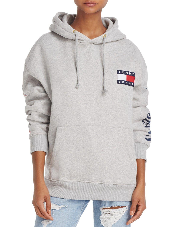 Tommy Jeans 90s Hooded Sweatshirt Women Bloomingdale S Jeans And Hoodie Sweatshirts Tommy Hilfiger Hoodie [ 1500 x 1200 Pixel ]