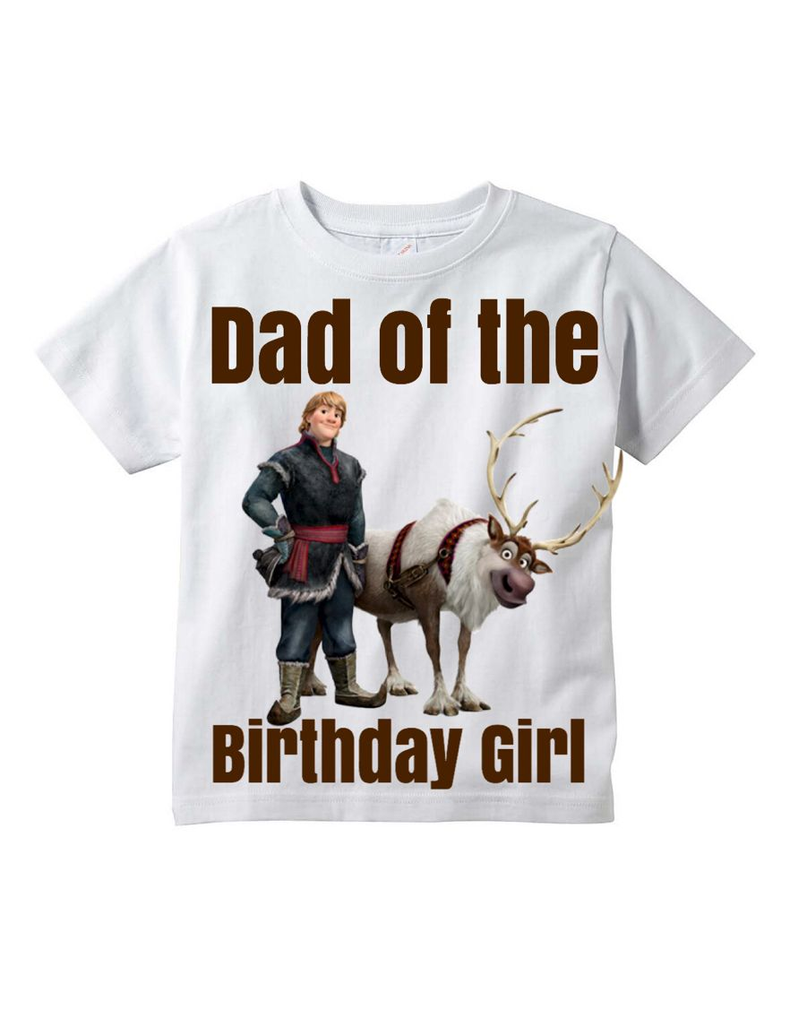 Frozen Dad Birthday Shirt