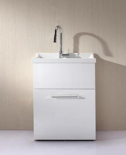 yani all in one utility sink with pullout faucet included similar to sink - Utility Sink Faucet