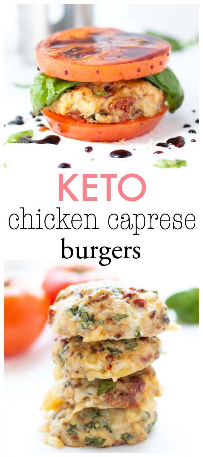 Photo of Chicken Caprese Burgers   Haute & Healthy Liv